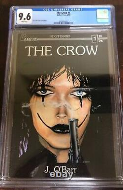 The Crow 1 CGC 9.6. White Pages! 1st print! Pristine copy! James OBarr