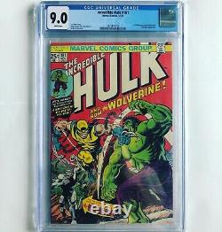 The Incredible Hulk #181 CGC 9.0 WHITE PAGES