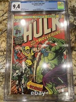 The Incredible Hulk #181 CGC 9.4 White Pages