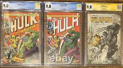 The Incredible Hulk #181 (Nov 1974, Marvel) CGC 9.0 White Pages