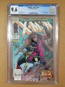 The Uncanny X-Men 266 CGC 9.6 1st Full Gambit White Pages