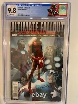 Ultimate Fallout 4 CGC 9.8 White Pages 1st print- 1st M. Morales. Last copy
