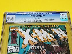 Uncanny X-Men #266 CGC 9.6 Marvel Comics White Pages 1st Gambit App Near Mint+