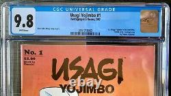 Usagi Yojimbo #1 CGC 9.8 White Pages 1st solo title, 1st print, Netflix coming