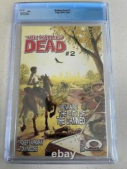 Walking Dead #1 CGC 9.4 White Pages