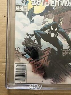 Web Of SPIDER MAN 1 Early Black Costume 9.8 CGC NEWSSTAND-RARE! White Pages