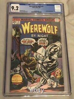 Werewolf By Night #32 1975 CGC Graded 9.2 Off White to White Pages