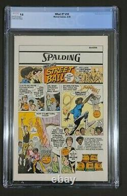 What If # 10 CGC 9.8 1st Jane Foster Thor White pages 1978 MCU