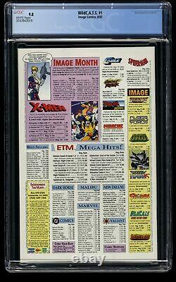 WildC. A. T. S. #1 CGC NM/M 9.8 White Pages