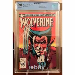 Wolverine #1 CBCS 9.8 White Pages! 1st Solo Series-1st Yukio not CGC lower $$