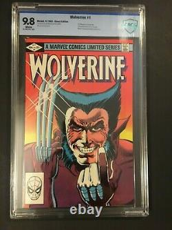 Wolverine #1 Limited Series Cbcs 9.8 Nm-mint White Pages Ist Solo Wolverine
