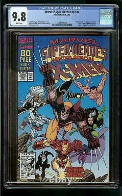 X-MEN MARVEL SUPER-HEROES #8 (1992) CGC 9.8 1st SQUIRREL GIRL WHITE PAGES