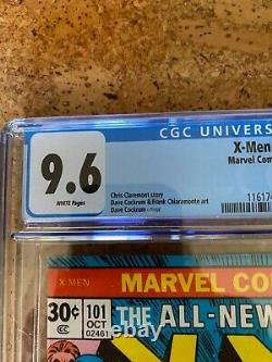 X-men 101 Cgc 9.6 White Pages