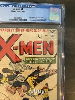X-men 1 / CGC 4.0 / WHITE PAGES / Make Me An Offer