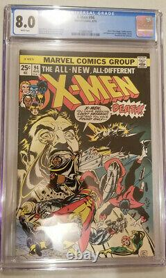 X-men 94 Cgc Graded 8.0 White Pages New X-men Team Begins