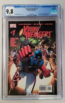 Young Avengers #1 CGC 9.8 White Pages 1ST KATE BISHOP