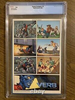 Young Avengers #1 CGC 9.8 White Pages 1st Young Avengers Marvel Comics 2005